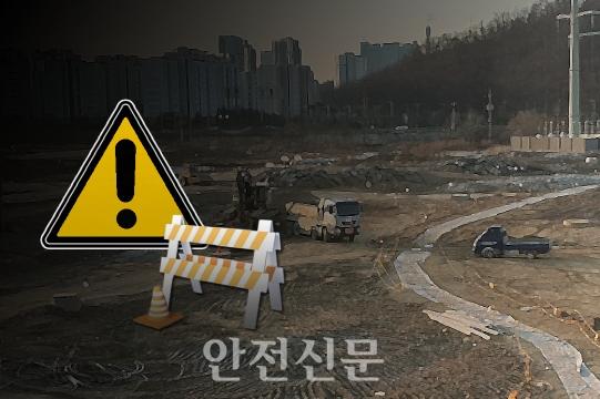 건설현장 / 안전신문 일러스트.